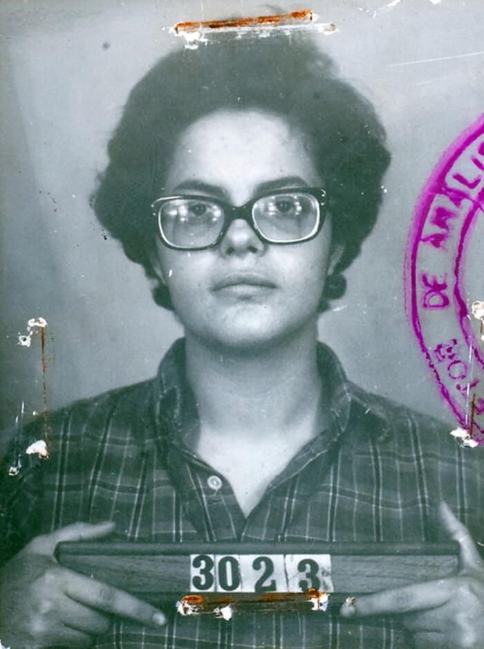 Дильмы Руссефф в 1970 году. Она была частью партизанского движения, которое сражалось против военной диктатуры страны.
