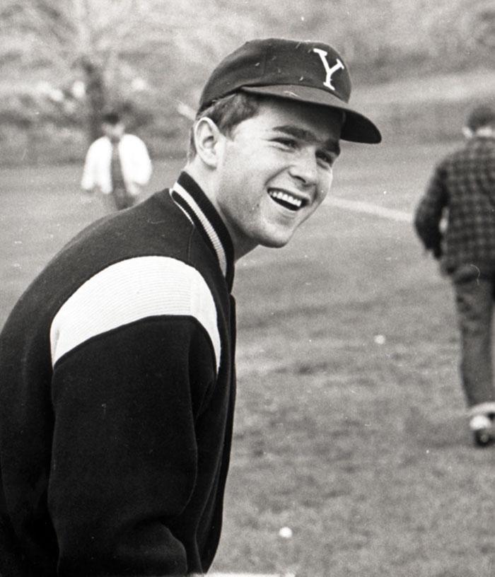 Джордж У. Буш в бейсбольной команде