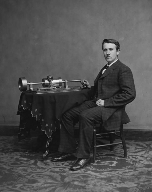 Томас Эдисон фонограф