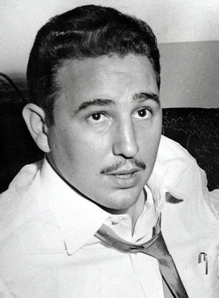 Фидель Кастро в Нью-Йорке