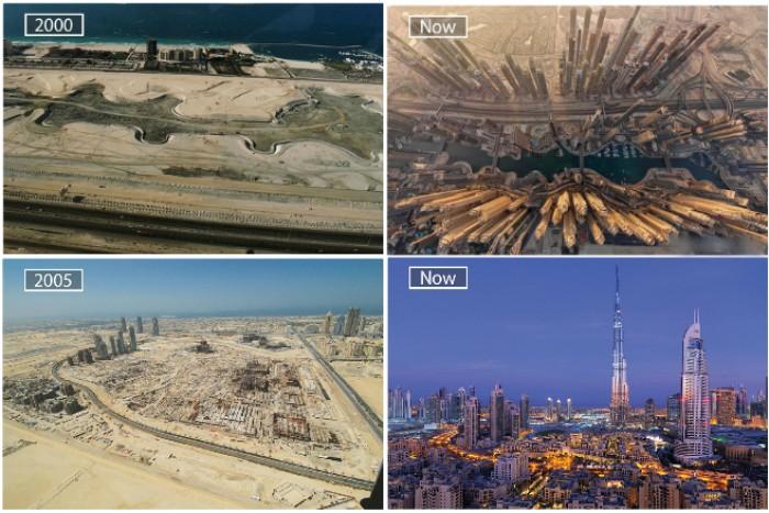 города сейчас и тогда