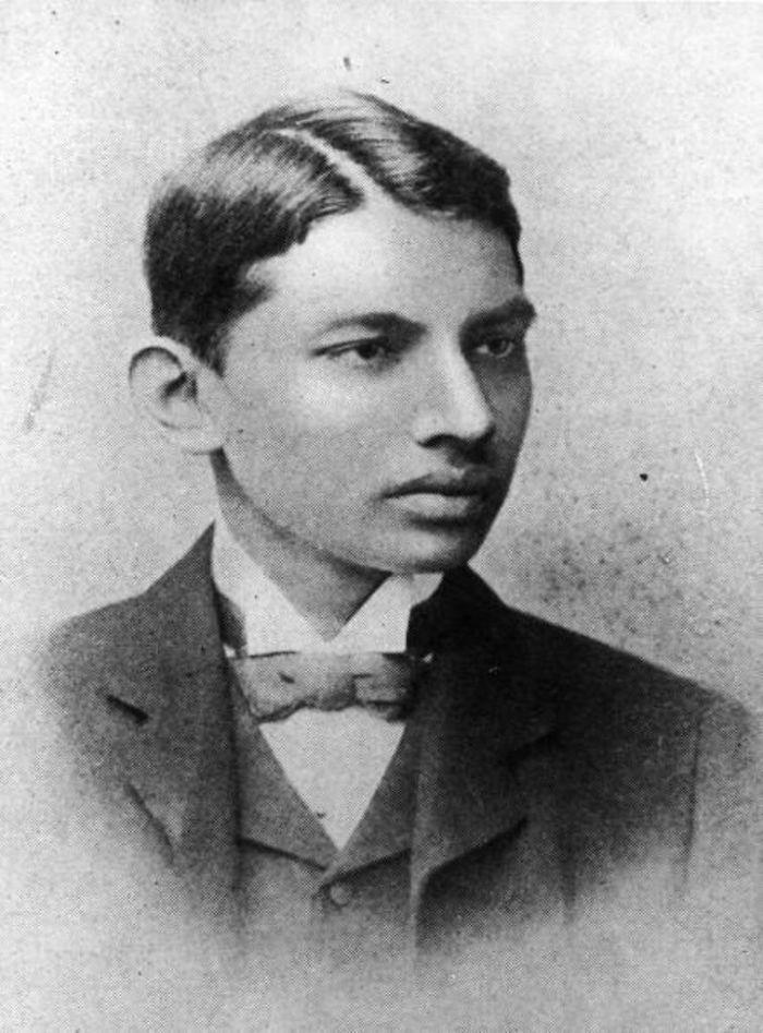 Махатма Ганди. 1887 год