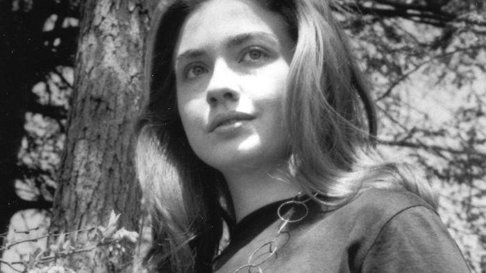 Молодая Хиллари Клинтон