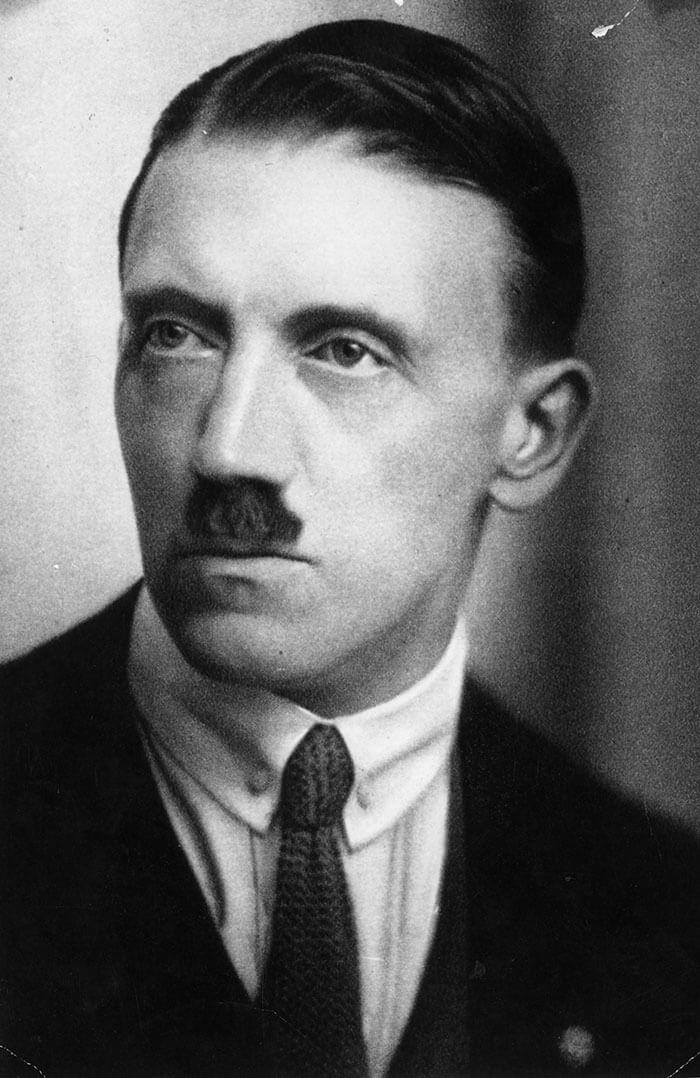 Молодой Адольф Гитлер