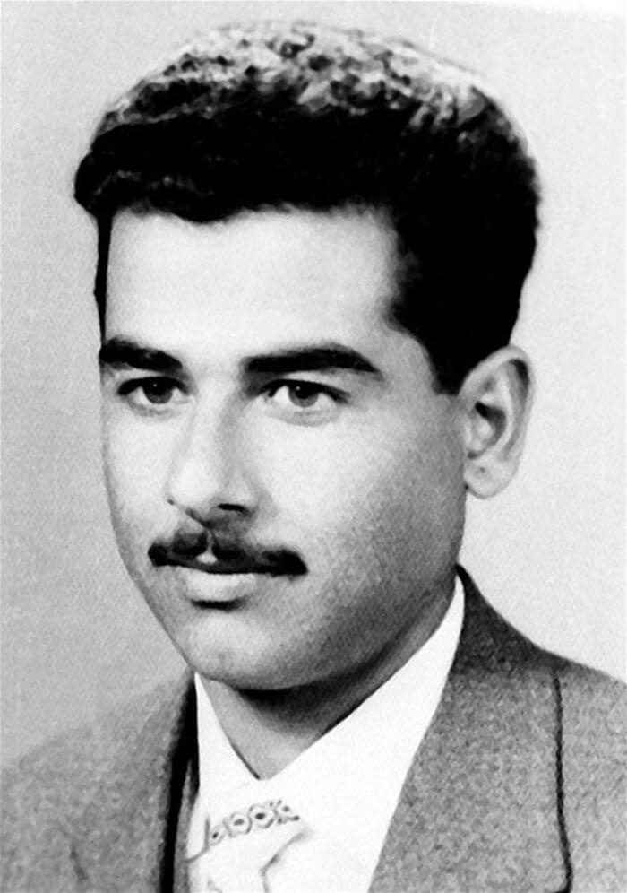 Молодой Саддам Хусейн