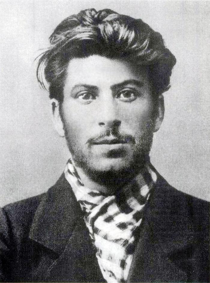 молодй Иосиф Сталин 1902