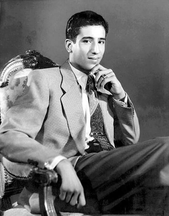 Салман ибн Абдул-Азиз Аль Сауд - король Саудовской Аравии. 1954 год.
