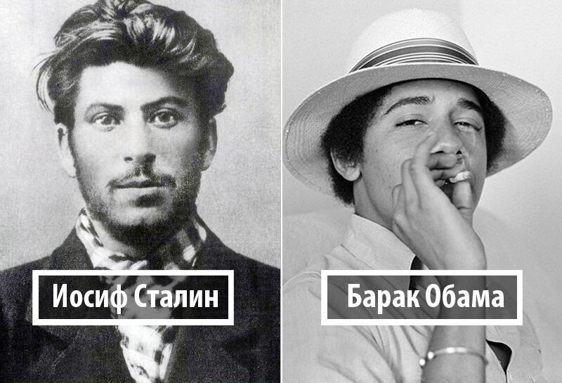 Удивительные фотографии мировых лидеров, до того, как они стали известными.