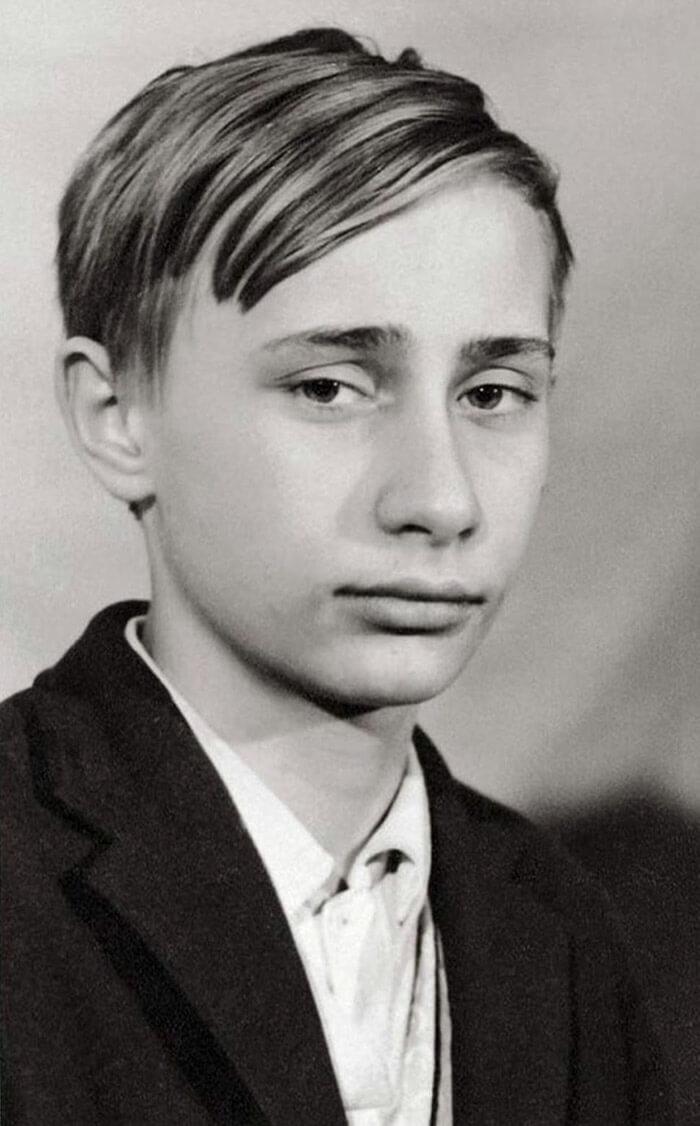 Владимир Путин, 1966 год
