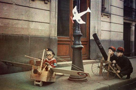 армия грената стрит Леон Гимпель и дети