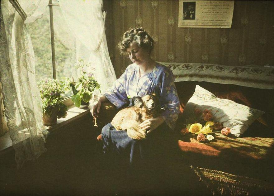 Задумчивая дама,1910