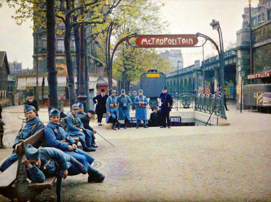 Метро. Париж