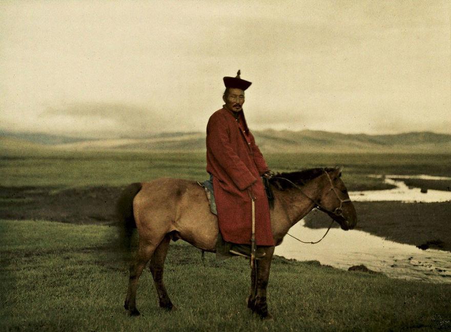 Монголия, около Улан-Батора, 1913 г.