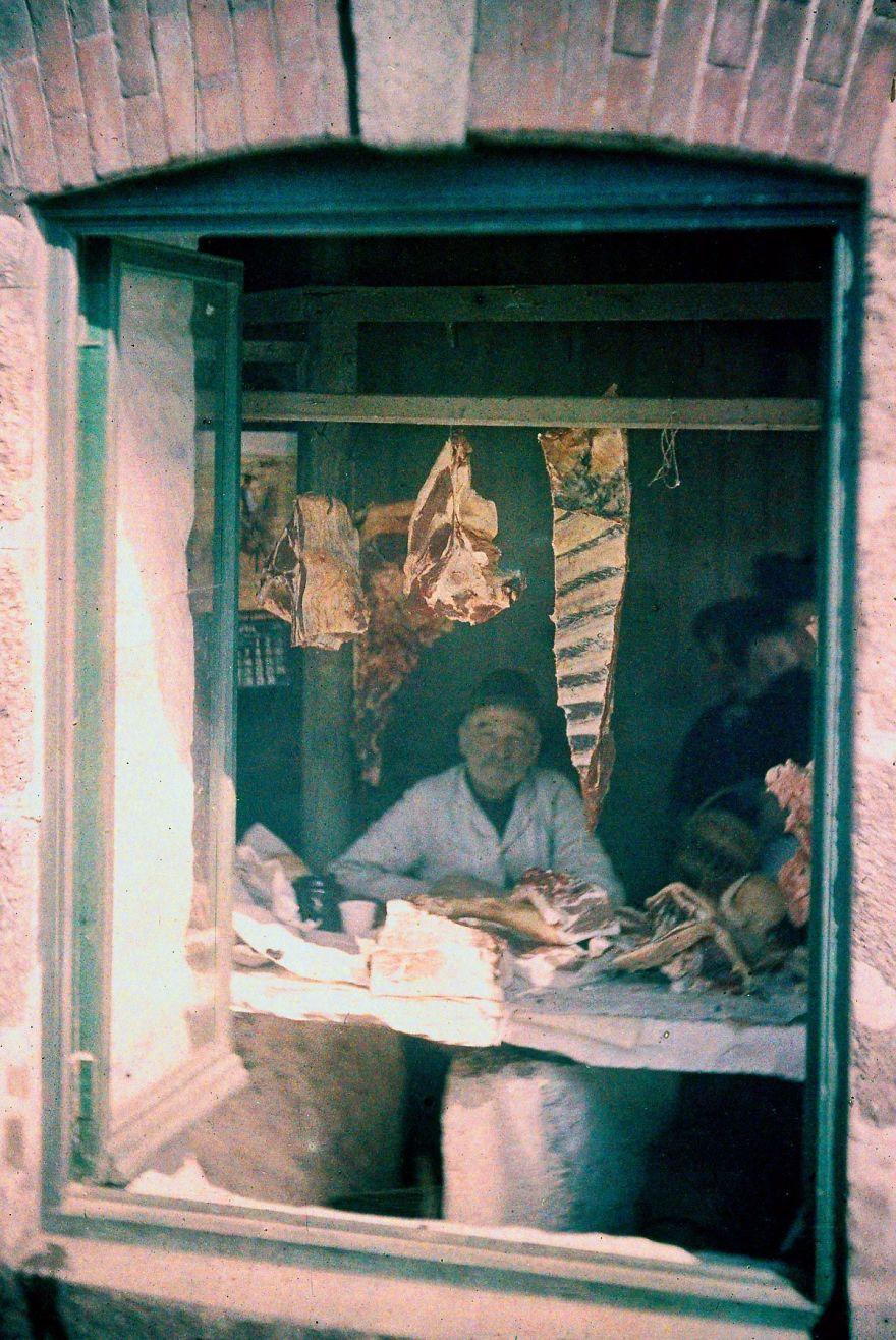 Мясной магазин, 1915 г.