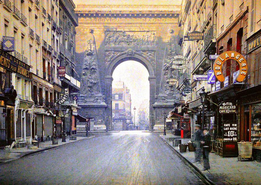 Сен-Дени, Париж, 1914 г.