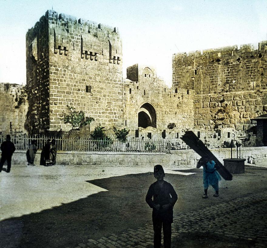 Улица в Иерусалиме, начало 20-го века