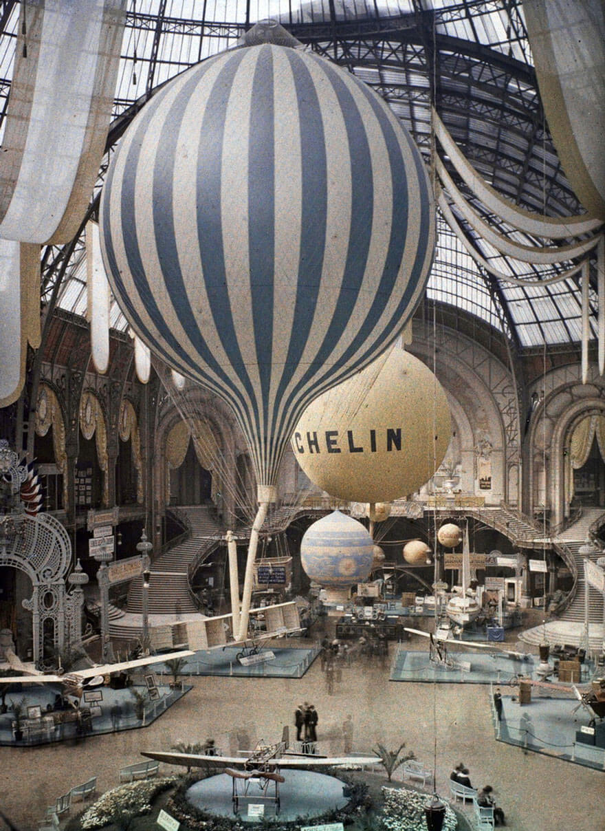 Воздушные шары, Париж, 1914 г.