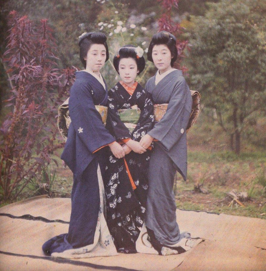 Япония, Киото, 1912 г.