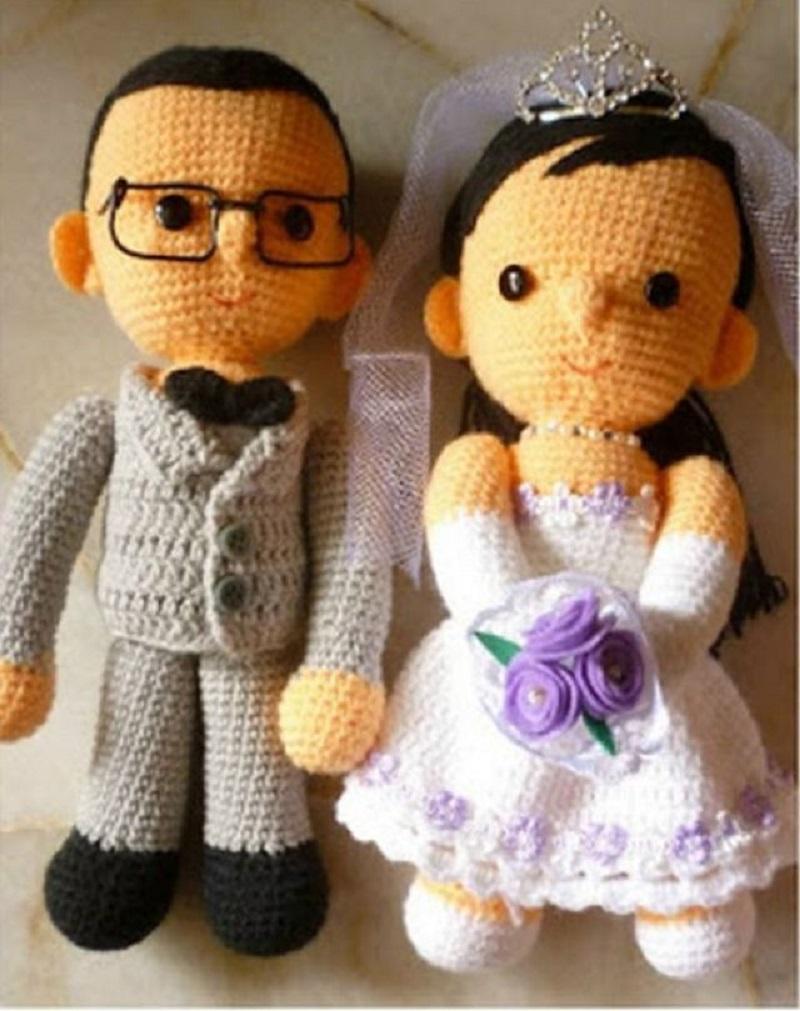 вышитые куклы