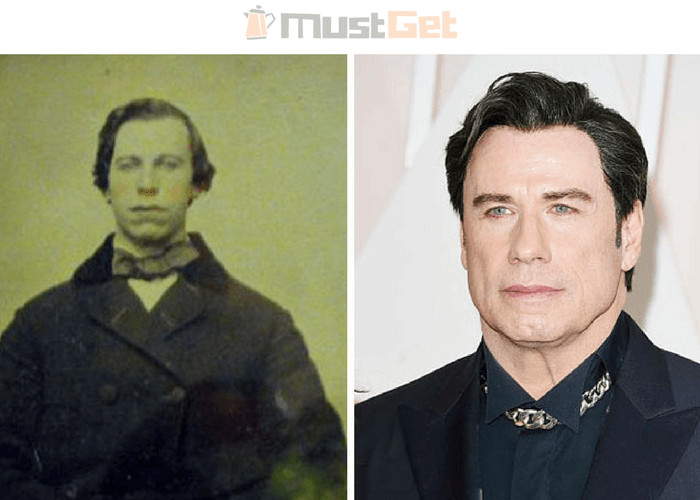 Мужчина с 1860-х годов и Джон Траволта