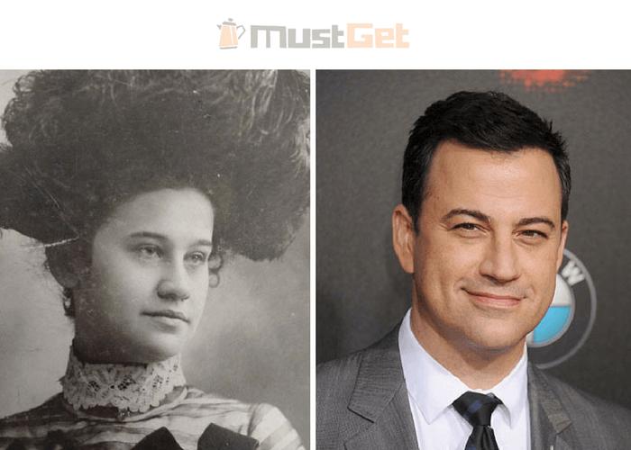 Моя прабабушка выглядит так же, как Джимми Киммел